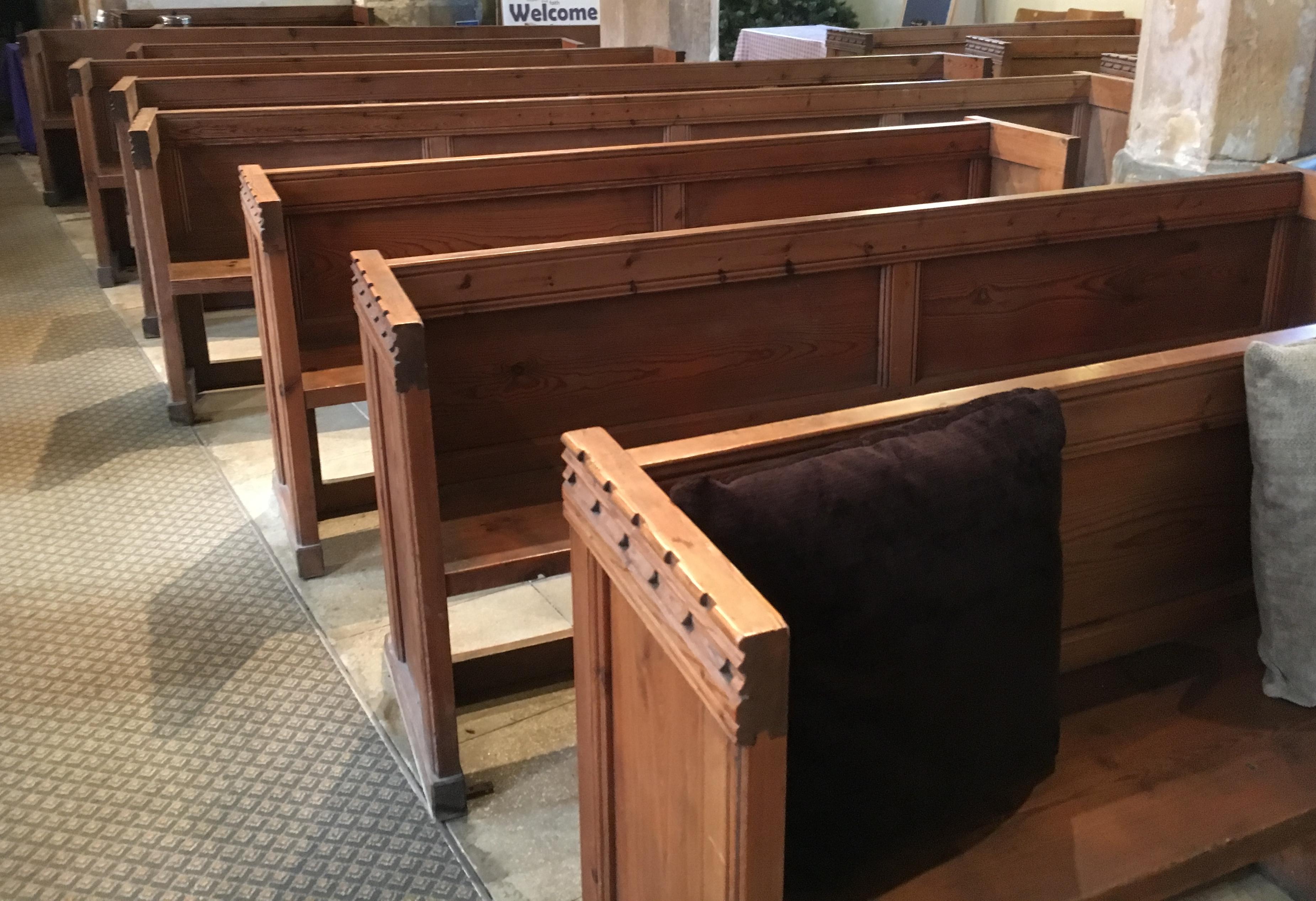 Scampton Church Pews