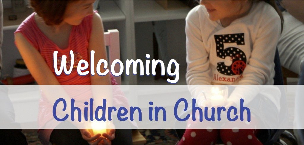 Wecolming children in church journal 2017