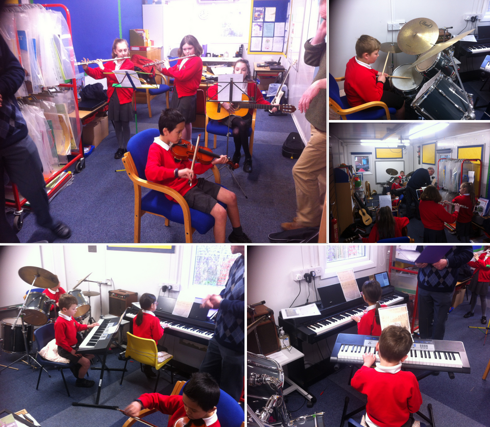 Scampton School Band
