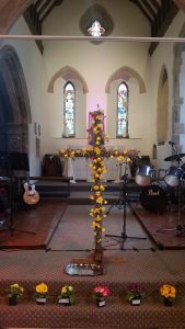 The Flowered Cross