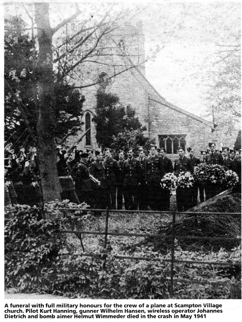 german war graves funeral