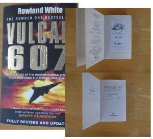 Signed Book Vulcan 607