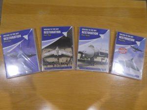 Vulcan restoration DVDs