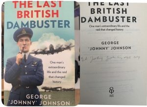 The last Dambuster Book signed