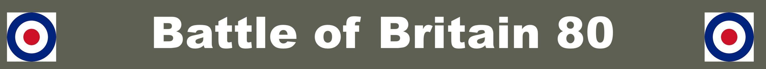 Battle of Britain 80 header